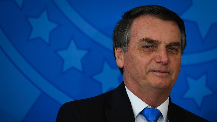 O presidente da República, Jair Bolsonaro (PSL) - Mateus Bonomi/Agif/Estadão Conteúdo