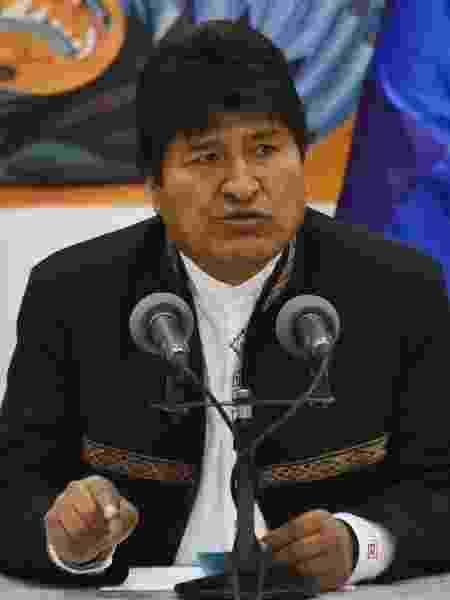 O ex-presidente da Bolívia, Evo Morales - Aizar Raldes/AFP