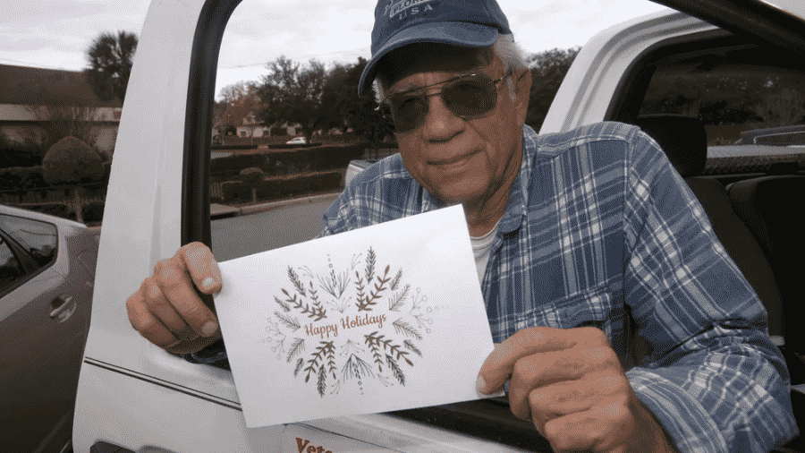 Mike Esmond não queria que as famílias passassem o Natal que ele passou em 83, quando teve seu gás e sua energia cortados - Tony Giberson/tgiberson via Pensacola News Journal