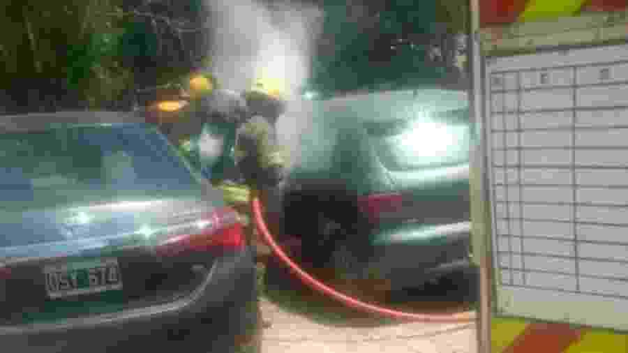 Homem estaria indo para churrasco e quis ganhar tempo, segundo hipótese de bombeiros - ElDoce.TV/Reprodução