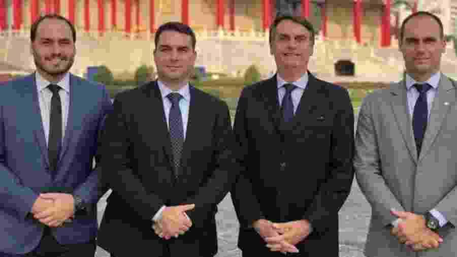 Flickr Família Bolsonaro/Reprodução via BBC