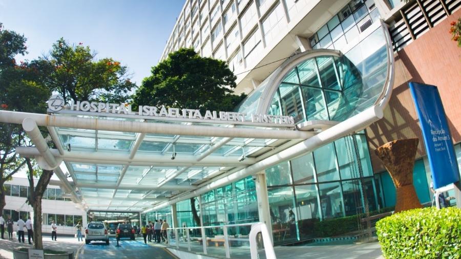 Hospital Albert Einstein, em São Paulo. Médicos relatam pressão e rotina exaustiva com excesso de casos de covid-19 a cidade - Divulgação/Hospital Albert Einstein