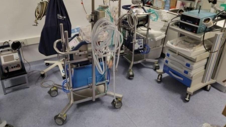 Uma máquina de ECMO pode fornecer assistência respiratória e cardiorrespiratória simultaneamente - Jordi Riera