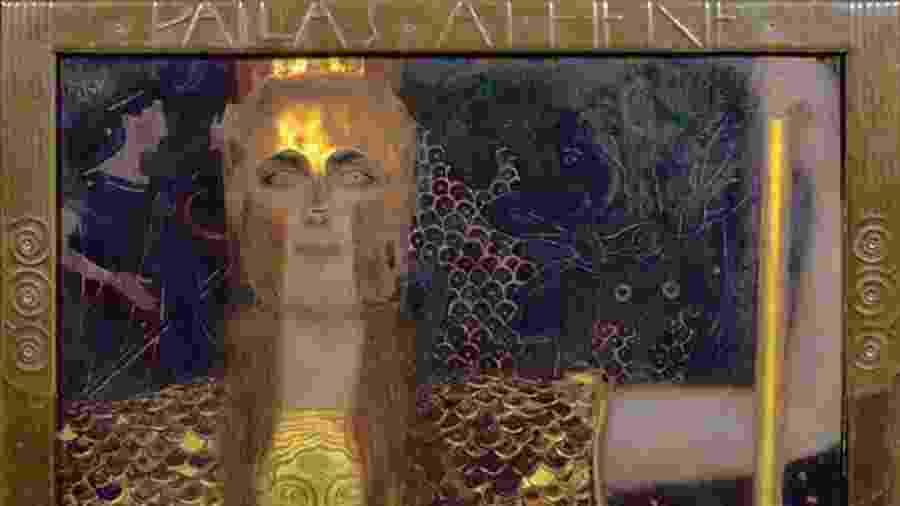 Atena, a deusa da guerra, da civilização, da sabedoria, da ciência, da justiça e da habilidade - Getty Images