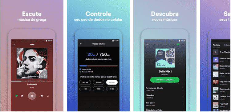 Spotify Lite - Reprodução - Reprodução