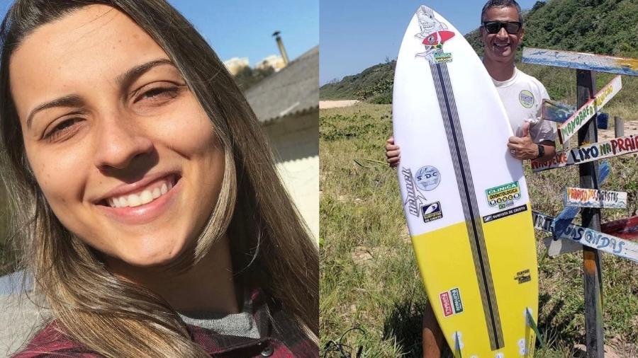 Mariana Migliorini e o pai, Robson Baião, morreram em um intervalo de dois meses - Reprodução/ Facebook/ Instagram @marianamigliorinirez