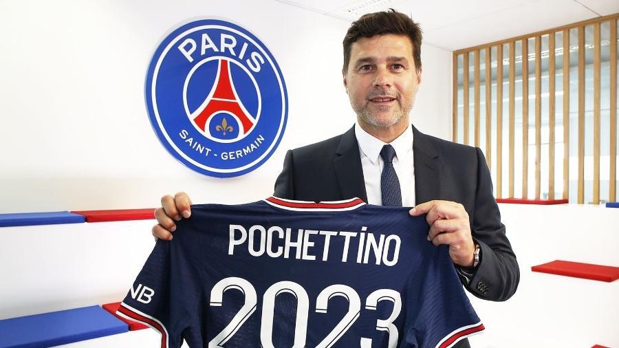 Mauricio Pochettino, treinador do PSG - Reprodução/Twitter