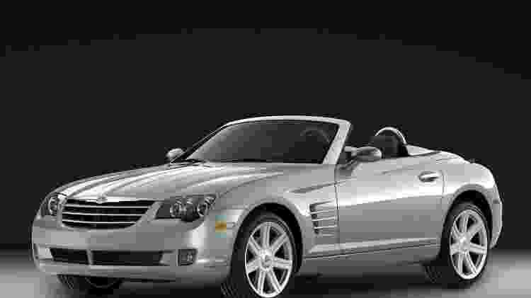 Chrysler Crossfire Roadster - Divulgação  - Divulgação