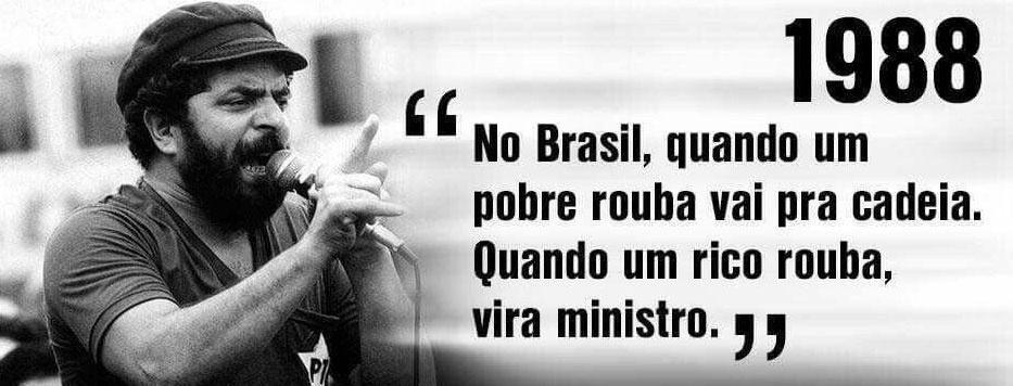 Frase De Lula De 1988 Sobre Impunidade De Ministros Vira