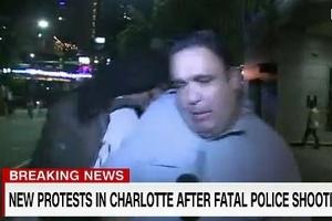 Reportagem foi interrompida após agressão ao repórter