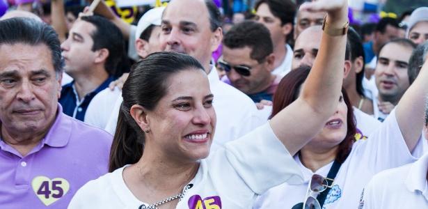 Raquel Lyra (PSDB) foi uma das três mulheres eleitas para grandes cidades (com mais de 200 mil eleitores)