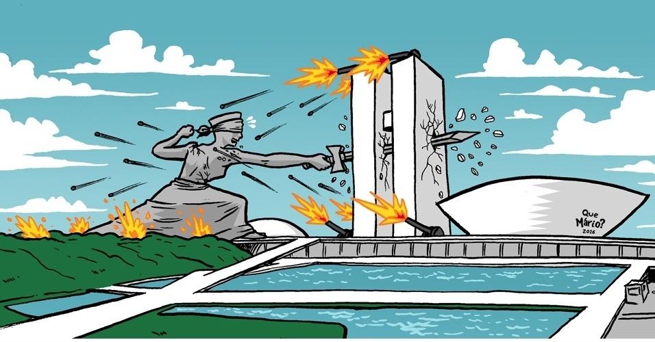 7.dez.2016 - A justiça terá que ser boa de briga se quiser ganhar essa guerra