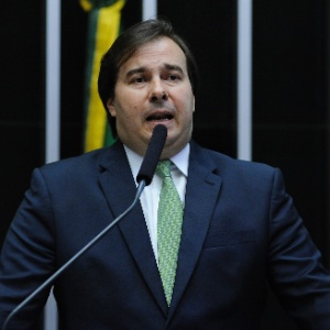 Rodrigo Maia (DEM-RJ) discursa no plenário da Câmara