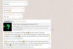 Golpe que promete hackear WhatsApp do amigo pega 220 mil brasileiros (Foto: Reprodução)