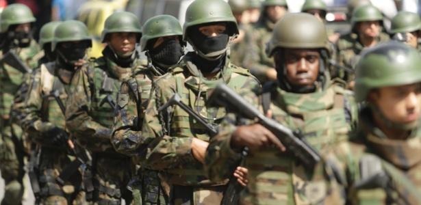 Desde o começo da GLO, R$ 1,5 milhão foram destinados às operações e custeio da presença dos agentes da Aeronáutica, Exército e Marinha
