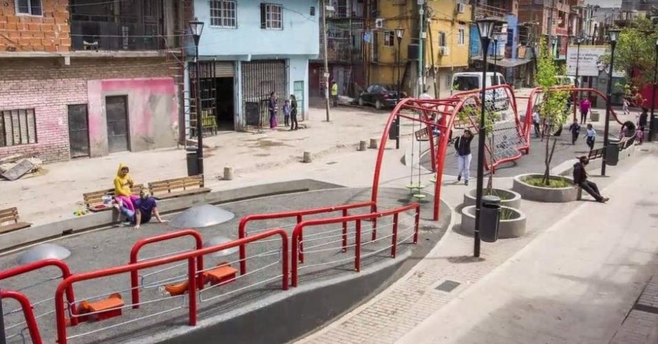 Ilustração do projeto de urbanização: críticos temem gentrificação do espaço