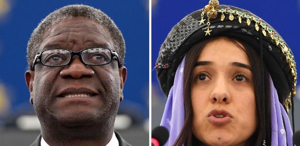 Denis Mukwege e Nadia Murad dividem o prêmio Nobel da Paz deste ano