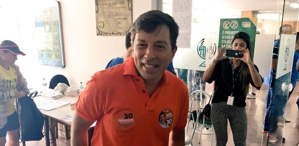 João Amoêdo, líder do partido, ficou em quinto lugar na disputa presidencial