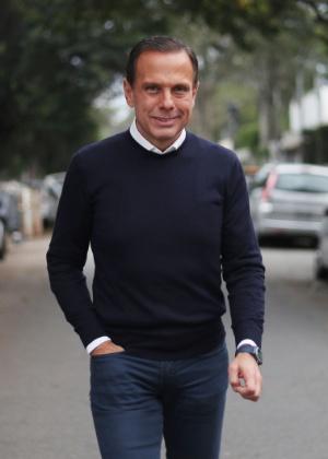 O governador eleito de SP, João Doria