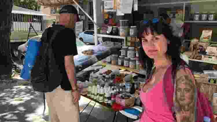 Anabella trocou férias no Rio de Janeiro por destino dentro da própria Argentina para economizar - Marcia Carmo/BBC - Marcia Carmo/BBC