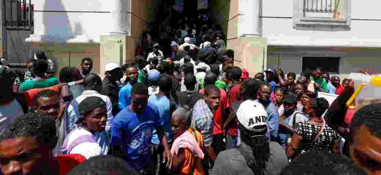 Embaixada brasileira em Porto Príncipe - Joel Silva/Folhapress