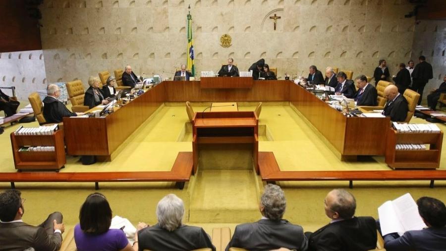 Abertura do terceiro dia de julgamento sobre a validade da prisão em segunda instância no Supremo Tribunal Federal (STF), em outubro passado - Fábio Rodrigues Pozzebon/Agência Brasil