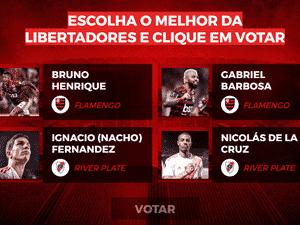 Reprodução  - votacao para melhor jogador da libertadores 1574362752479 v2 300x225 - Bridgestone dará anel com 128 diamantes para melhor jogador da Libertadores