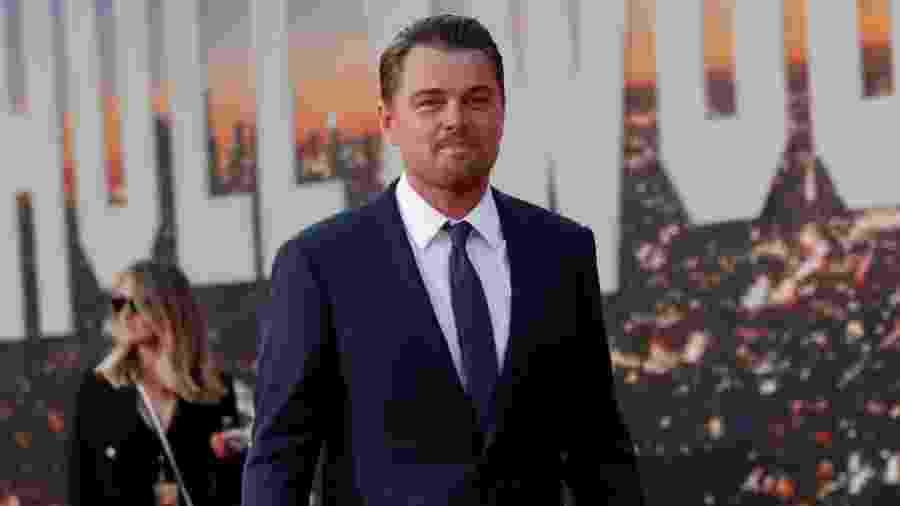 """22.jul.2019 - Leonardo DiCaprio comparece à estreia do filme """"Era uma vez em Hollywood"""" - Mario Anzuoni/Reuters"""