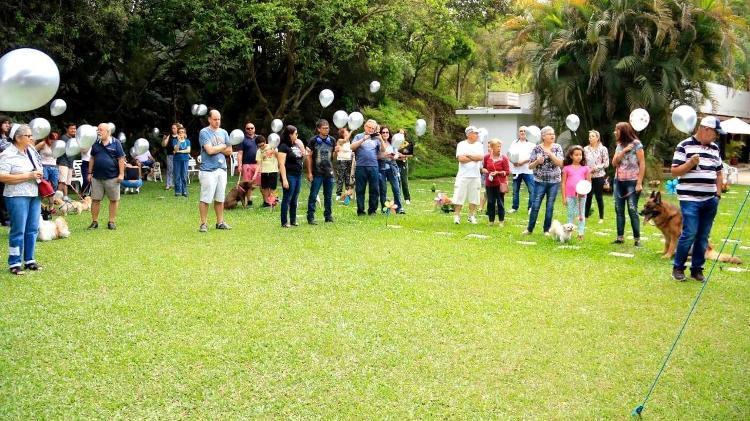 """O Jardim do Amigo avalia se este ano poderá promover o """"Dia da Bênção dos Animais"""", em outubro  - Divulgação"""