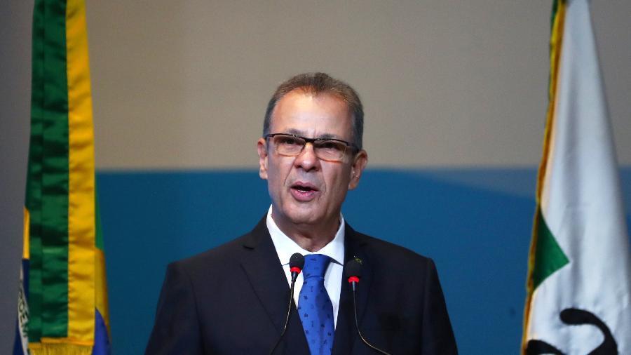 Bento Albuquerque, ministro de Minas e Energia, disse Brasil não corre riscos de racionamento ou falta de energia - PILAR OLIVARES