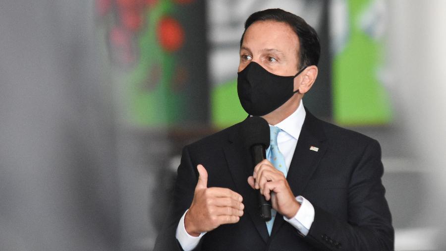 Governador de São Paulo, João Doria (PSDB) - ROBERTO CASIMIRO/FOTOARENA/FOTOARENA/ESTADÃO CONTEÚDO