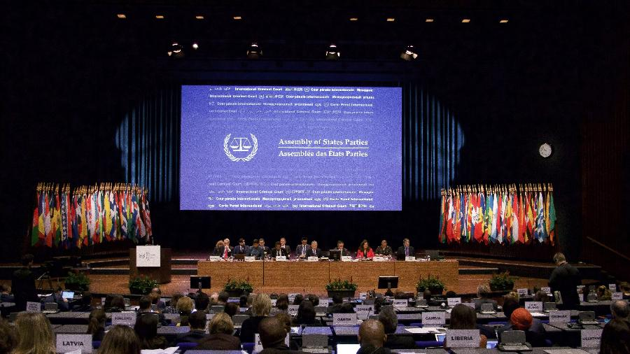 01.dez.2019 - Assembléia dos países do Tribunal Penal Internacional, em Haia, na Holanda - Getty Images