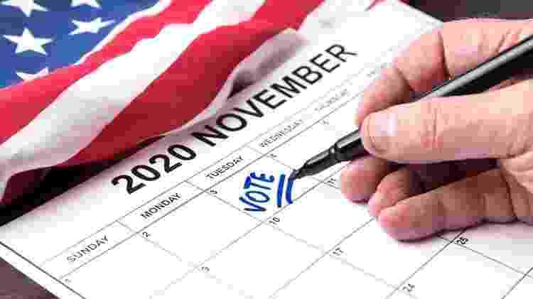 O prazo para a votação do próximo presidente dos Estados Unidos terminou em 3 de novembro - Getty Images - Getty Images
