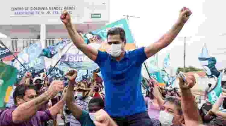 Emanuel Pinheiro, do MDB, eleito para Prefeitura de Cuiabá  - Reprodução/Facebook - Reprodução/Facebook