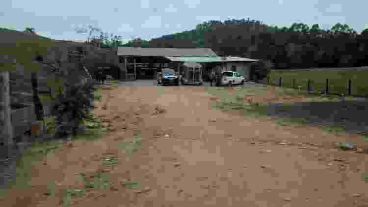 Propriedade rural em SC tinha rebanho específico para Farra do Boi - Divulgação/Polícia Civil-SC - Divulgação/Polícia Civil-SC