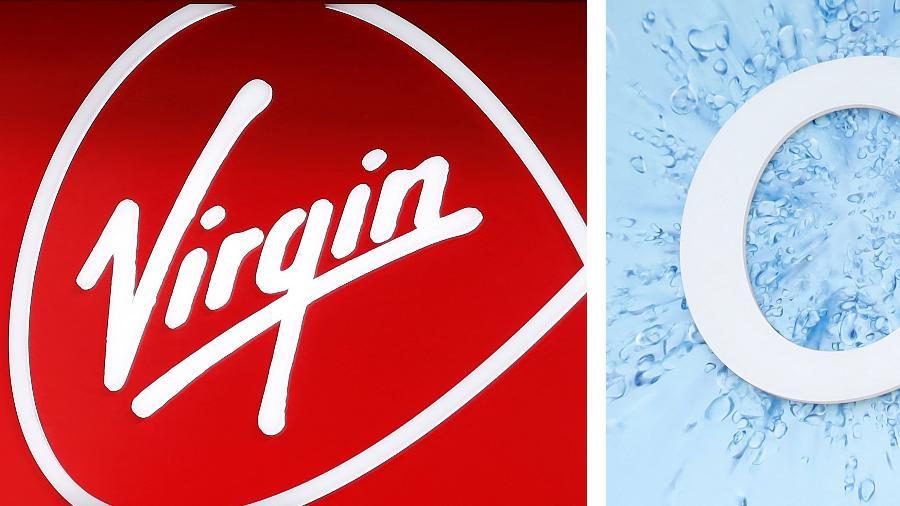 14.abr.2021 - Agência reguladora da concorrência no Reino Unido aprovou a fusão entre as operadoras de telecomunicações Virgin Media e O2 - Tolga Akmen/AFP