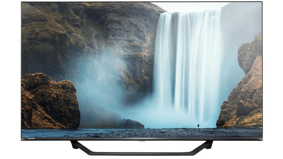 Nova TV Toshiba vendida no Brasil - Divulgação