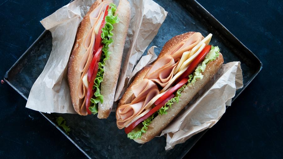 Lanche do Subway - Getty Images/iStockphoto
