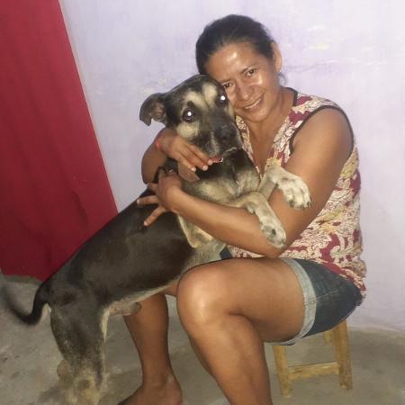 Mailon, que aguardava na casa onde morava, foi reencontrar Maria da Paz no Ceará - Arquivo Pessoal
