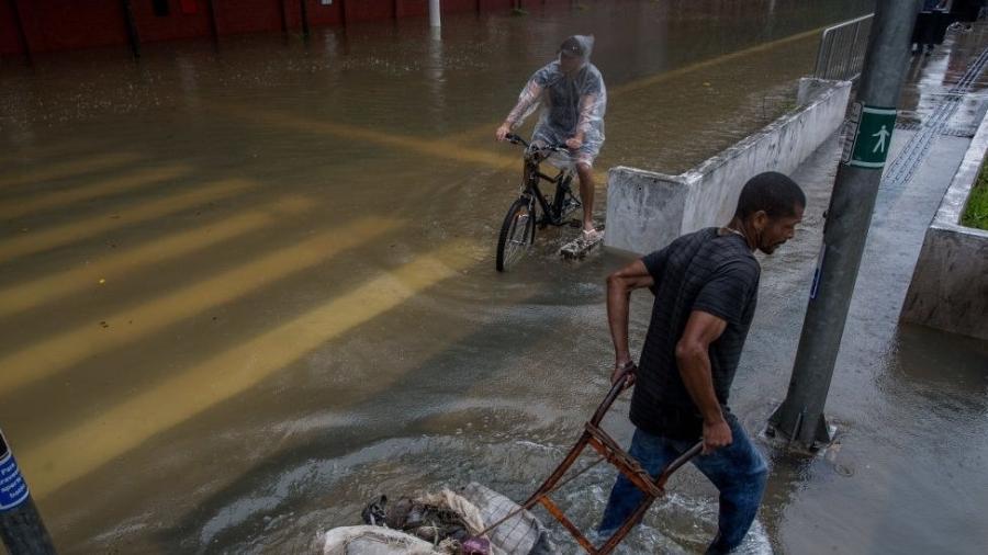Alagamento em São Paulo; mudanças climáticas aumentam probabilidade de chuvas extremas - Getty Images