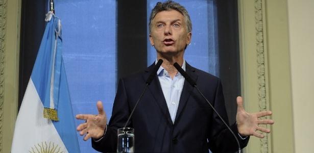 O presidente da Argentina Macri esteve à frente do Boca Juniors de 1995 e 2008 - Victoria Egurza/Telam/Xinhua