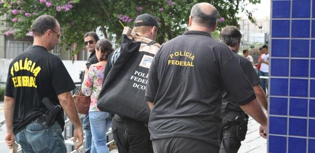 Agentes da Polícia Federal atuam na Operação Zelotes