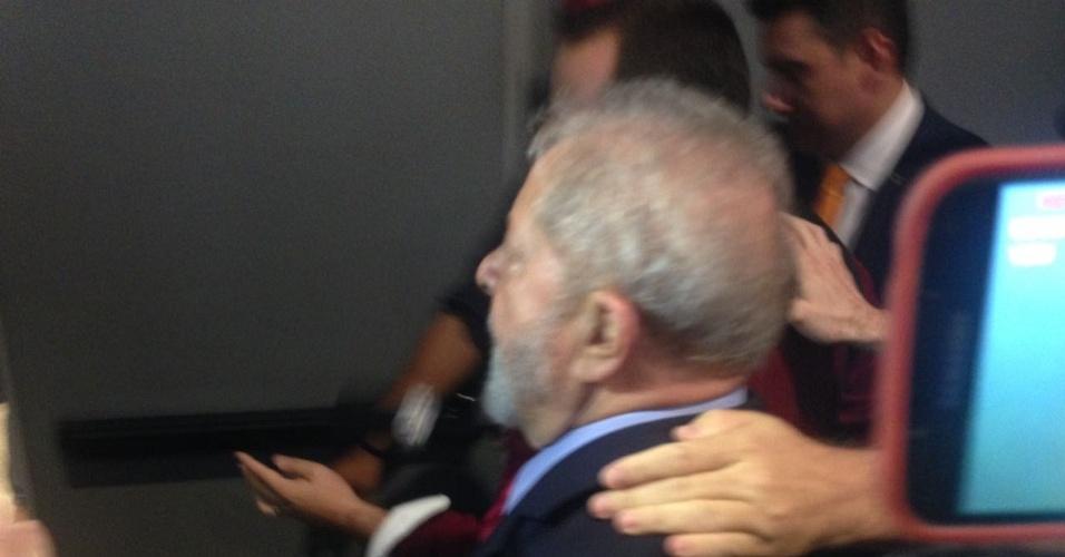 24.abr.2017 - O ex-presidente Lula participa, em Brasília, do seminário