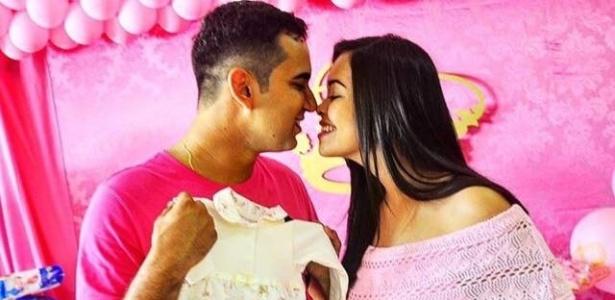 Daiane estava grávida de nove meses e aguardava ansiosa o nascimento da criança