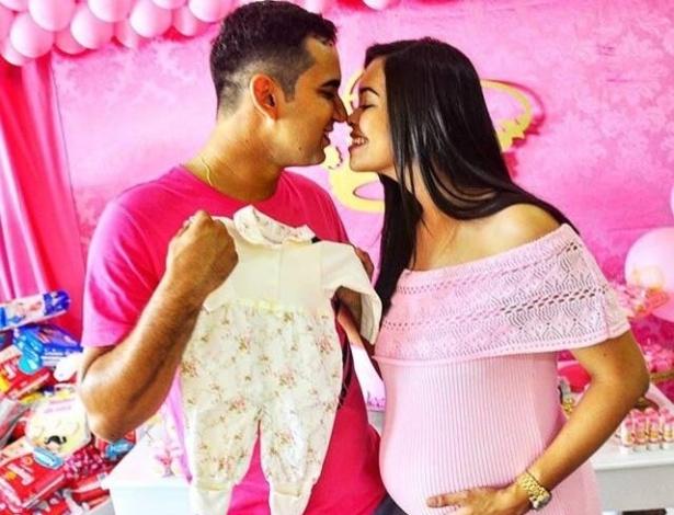 Daiane Reis Mota tinha parto previsto para segunda-feira (18); bebê não sobreviveu