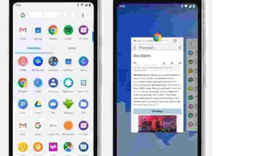 Novo controle de gestos do Android 9 Pie - Reprodução