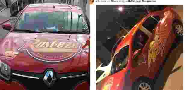 Uber: motorista Fábio Dantas, carro Relâmpago Mcqueen - UOL - UOL