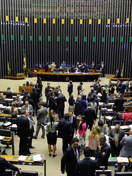 5.dez.2018 - Plenário da Câmara dos Deputados - Luis Macedo/Agência Câmara/Divulgação