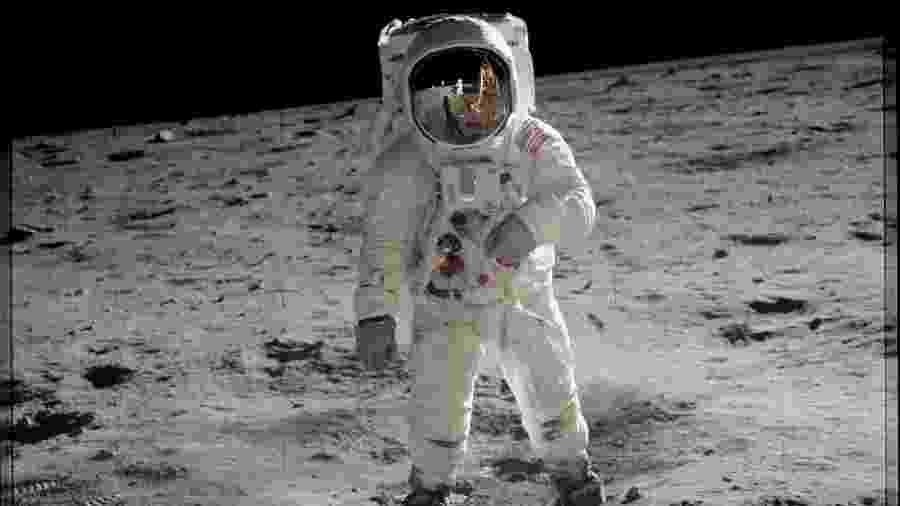 O aniversário da ida do homem à Lua também é marcado por uma profecia relacionada a uma onda de transformações na Terra - Divulgação/Nasa