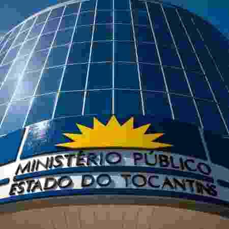 Prédio do Ministério Público do Tocantins - Ministério Público do Estado do Tocantins/Divulgação